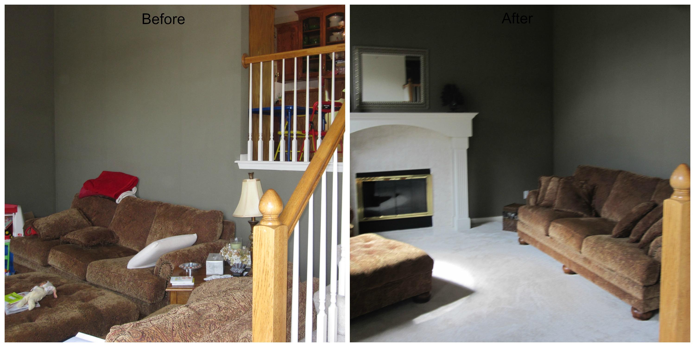 Real Estate Home Staging Living Room