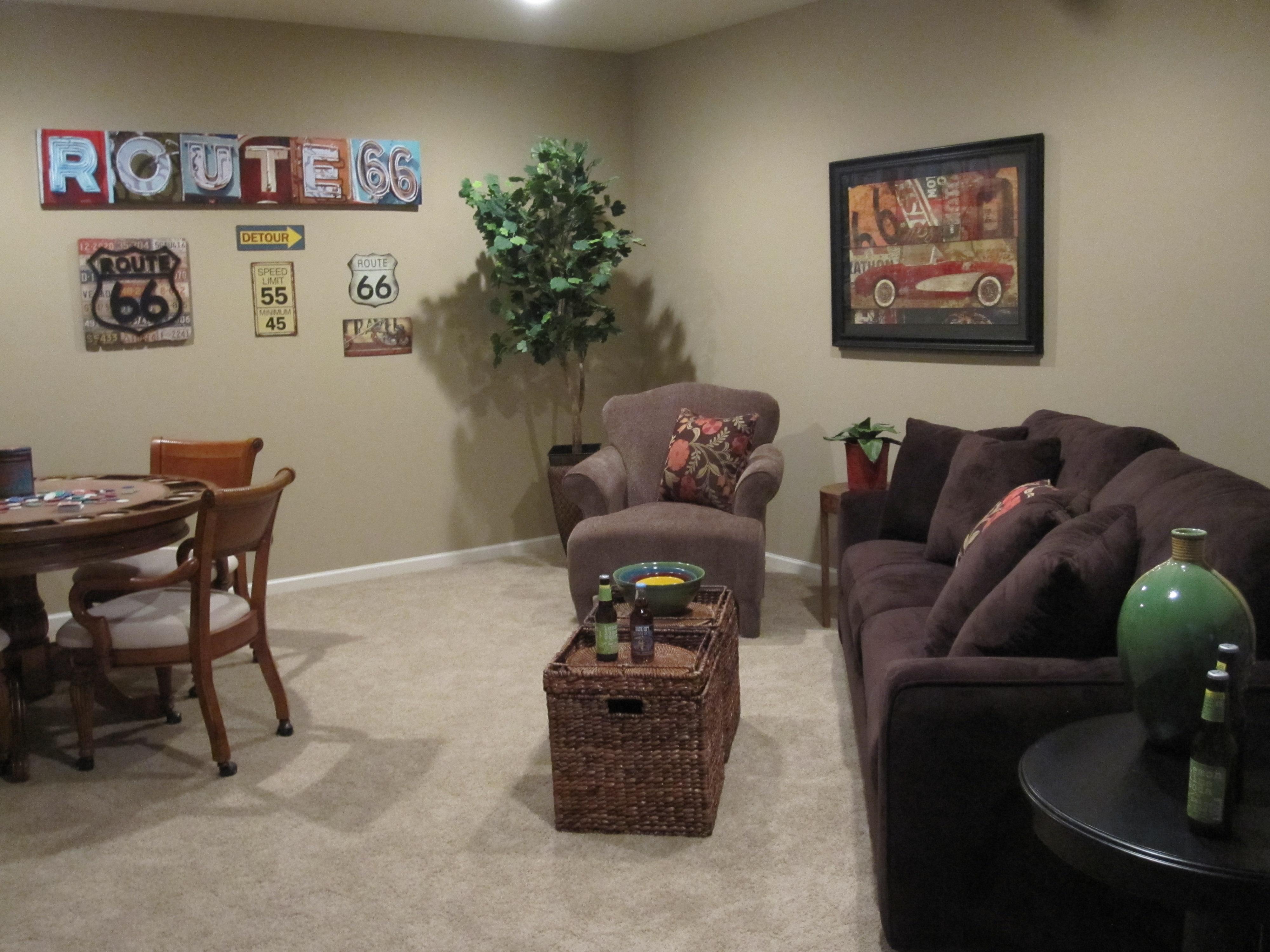 Model Home Family Room