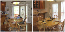 Real Estate Home Staging Dinning