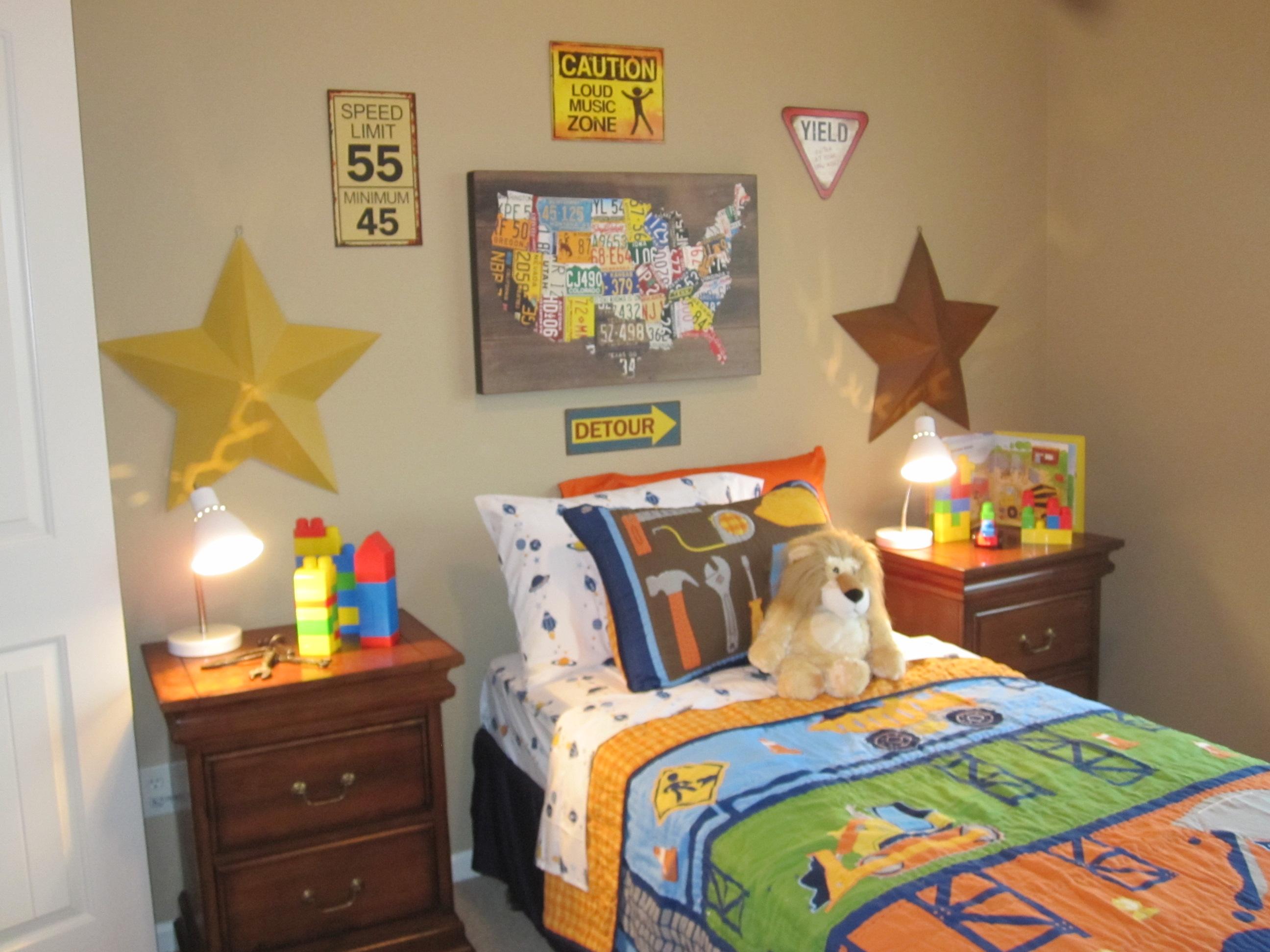 Model Home Boy's Room