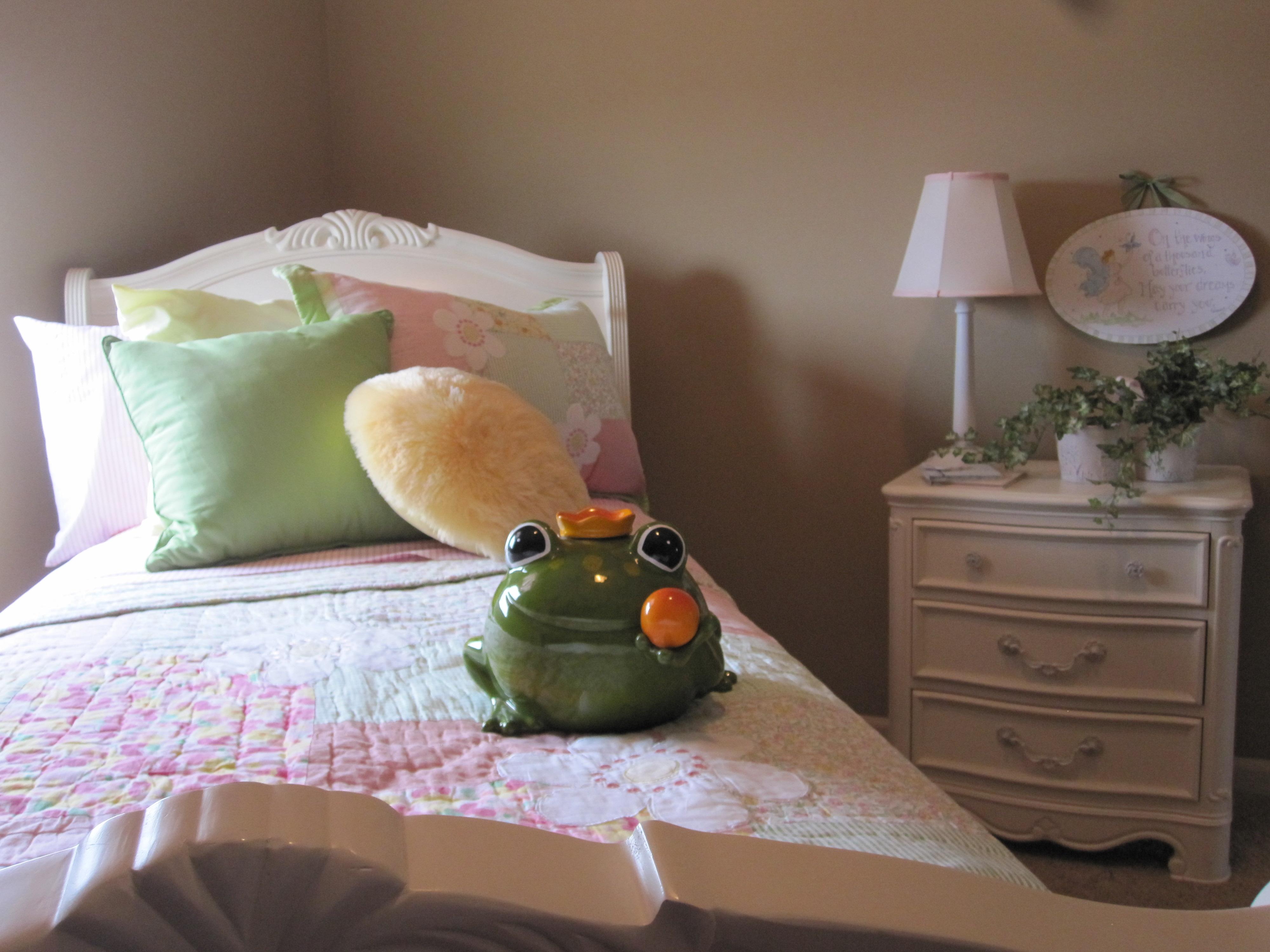 Model Home Girl's Room