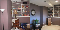 Real Estate Home Staging Basement