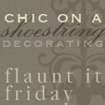 Chic on a Shoestring Decorating