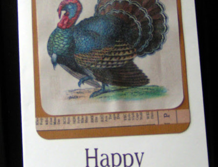 A Thanksgiving Day Card with The Graphics Fairy
