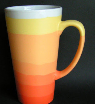 Ombre Mug Two–Channeling Candy Corns