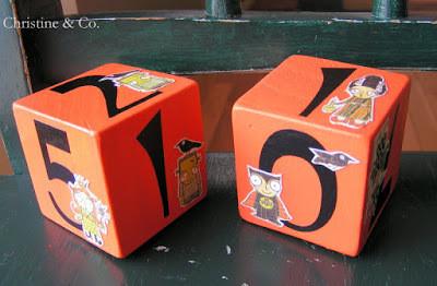 Perpetual Calendar Blocks: The Halloween Edition