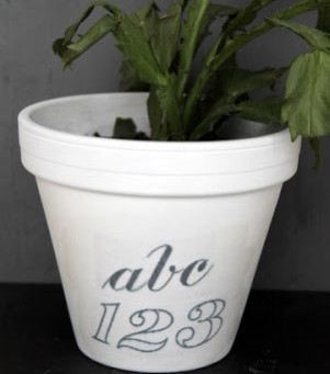 Upcycled Flower Pot–Second Edition