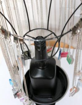 DIY Craft Show Pendant Display