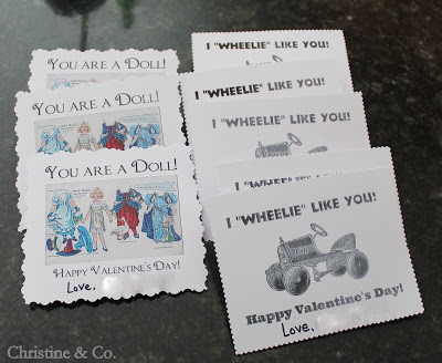 """Valentines for My """"Other"""" Kiddos"""
