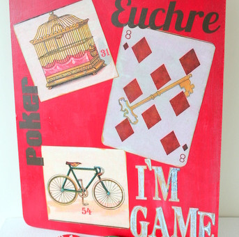 Game Inspired Clipboard with The Graphics Fairy