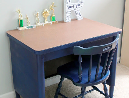 Metal Desk Remodel {Chapter Two A Tale of Two Desks}