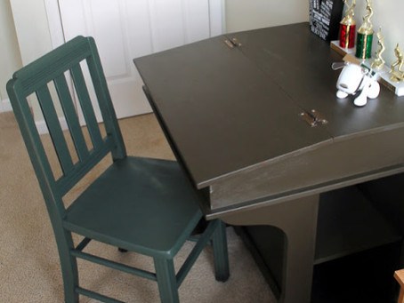 Wood Desk Remodel {Chapter One-A Tale of Two Desks}