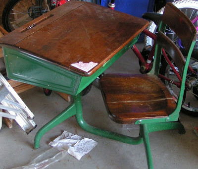 """The desk that """"schooled"""" me"""