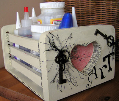 Recycled Wood Box