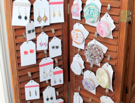 Shutters as a Craft Show Display? Yes!