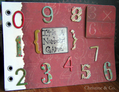 Mixed Media–focus on numbers