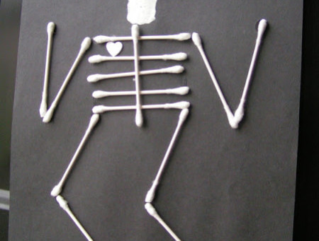 This Q-Tip Skeleton is so good looking!