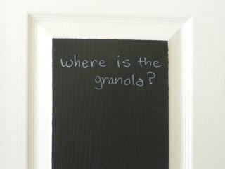 Where's the Granola?