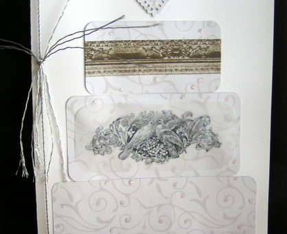 Wedding Cake Card with The Graphics Fairy