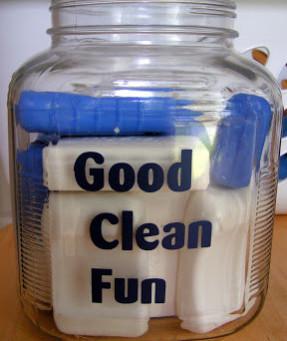 Bath Soap Storage Jar