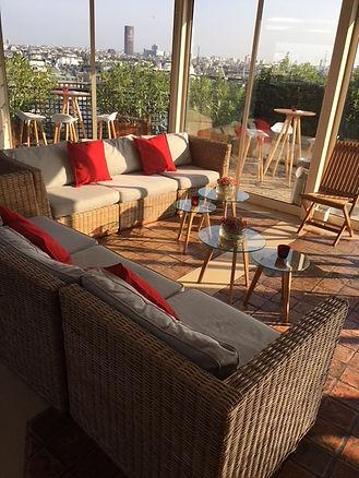 Terrasse Rooftop Champs Elysees.JPG