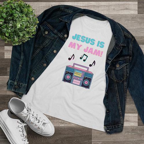Jesus Is My Jam Women's Premium Tee