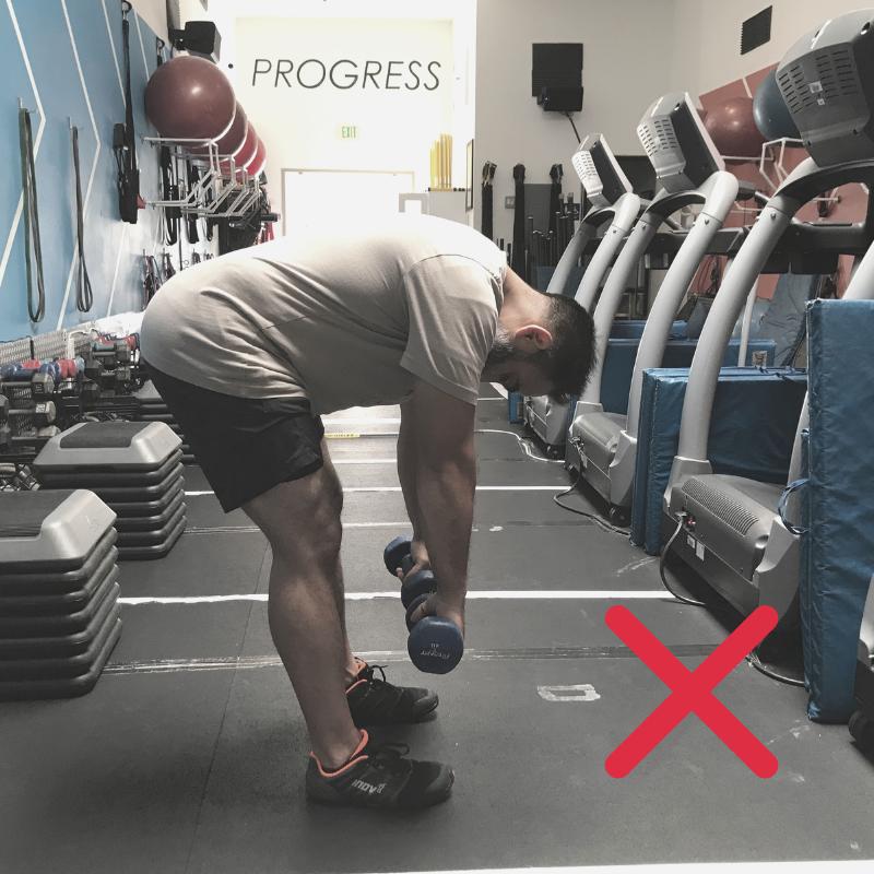Bad Deadlift Form I Poise Fitness I Hermosa Beach 90254