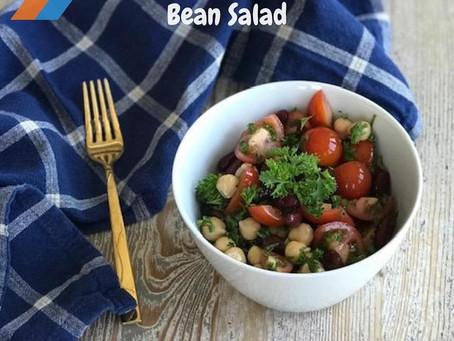 Mediterranean Mixed Bean Salad