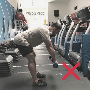 Bad Deadlift Form - Poise Fitness Hermosa Beach 90254