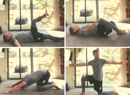 4 Stretches for Back Pain