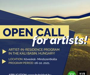 OPEN CALL: Artist in Residency