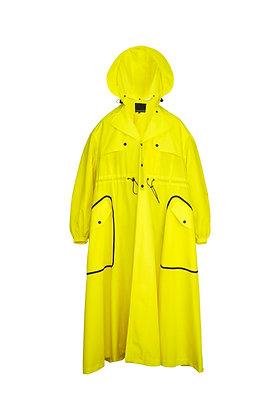 LEMON RAIN TRENCH COAT