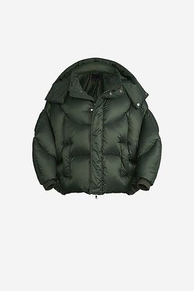 OLIVE SHELL PUFFER JACKET - CP16002021