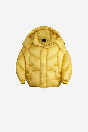 YELLOW SHELL PUFFER JACKET - CP16002017