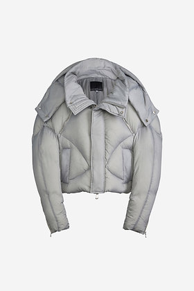 GRAY PUFFER JACKET - CP16001