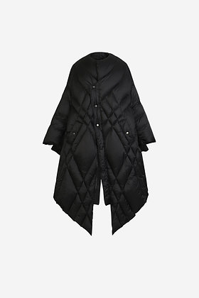 BLACK DUVET JACKET - CP16009027