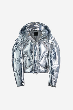 SILVER DOWN JACKET - CP17012014