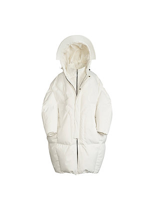 WINDPROOF WHITE DOWN JACKET