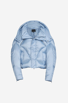 BABY BLUE PUFFER JACKET -CP16001032