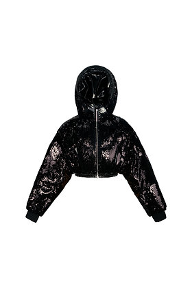 BLACK DIAMOND SHORT DOWN JACKET