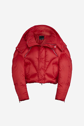 RED PUFFER JACKET - CP16001025