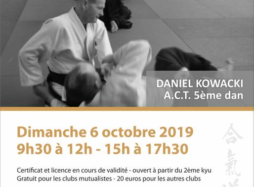 Ecole des cadres à Dijon le 6 octobre