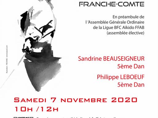 Rencontre Aïkido BFC le 7 novembre 2020
