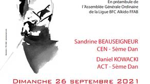 Rencontre Aïkido BFC le 26 septembre à Givry