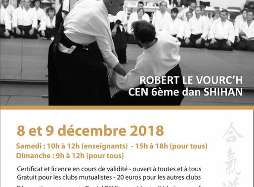 Stage Fédéral à Chalon-sur-Saône les 8 & 9 décembre