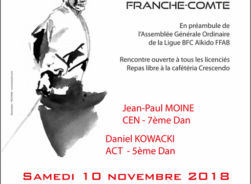 Rencontre Ligue BFC à Beaune le 10 novembre