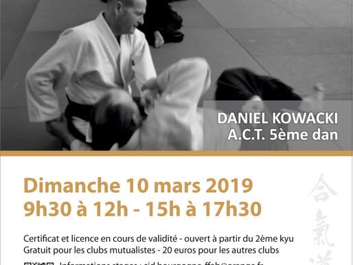 Ecole des cadres à Dijon le 10 mars