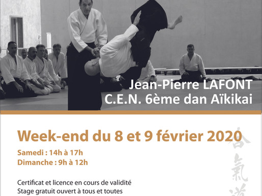 Stage départemental Côte d'Or les 8 et 9 février