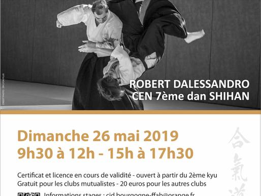 Stage Yudansha à Chalon le 26 mai