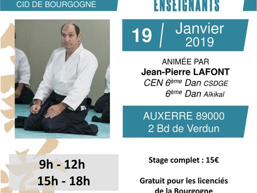 Formation nationale Enseignants à Auxerre le 19 janvier
